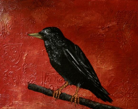 Humanities, Arts & Music Blackbird  by Laura Carter